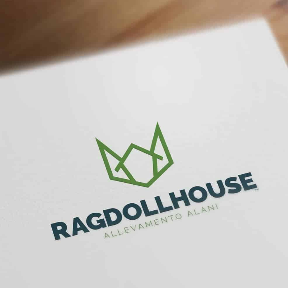 Ragdoll House Logo Mock Up