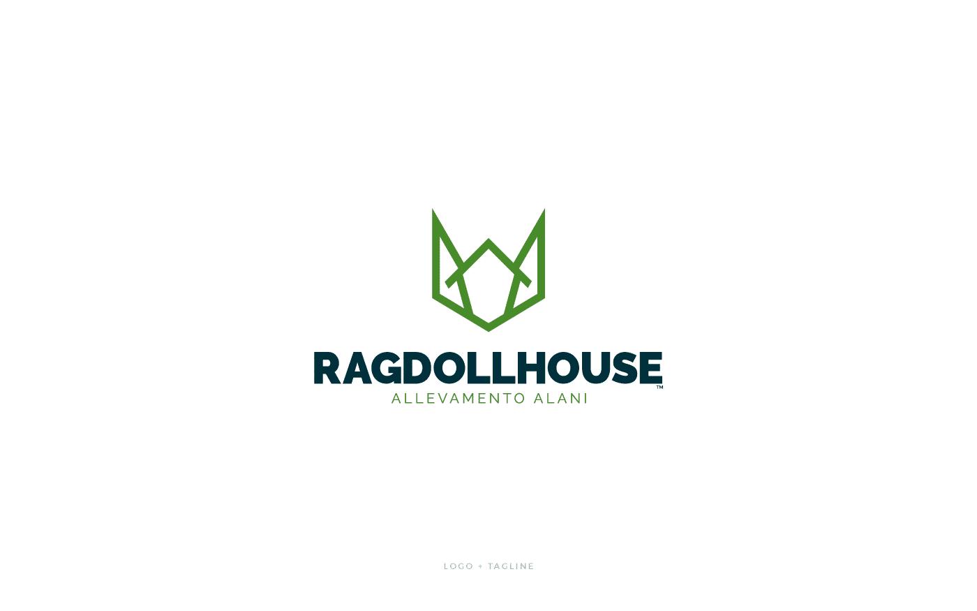 RagDoll House Logo e Tagline