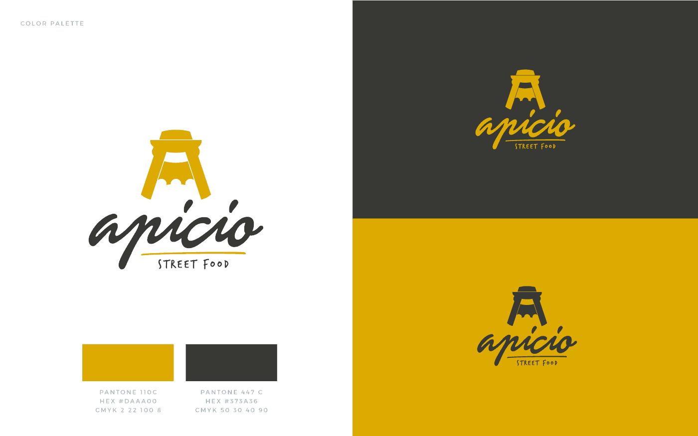 Apicio Logo Palette Colore
