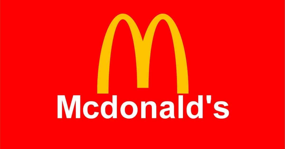 Logo McDonald Psicologia del Colore