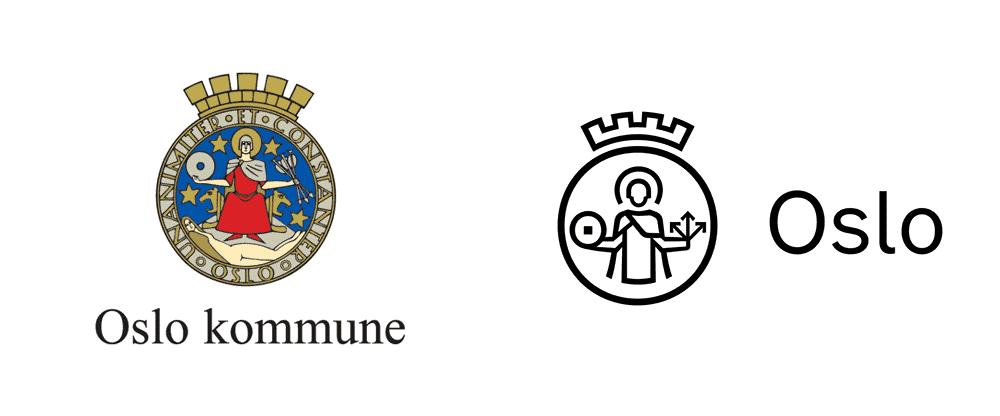 Nuovo logo e identità per Oslo Kommune