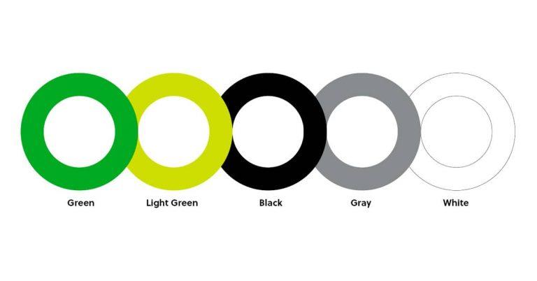 Evernote color palette