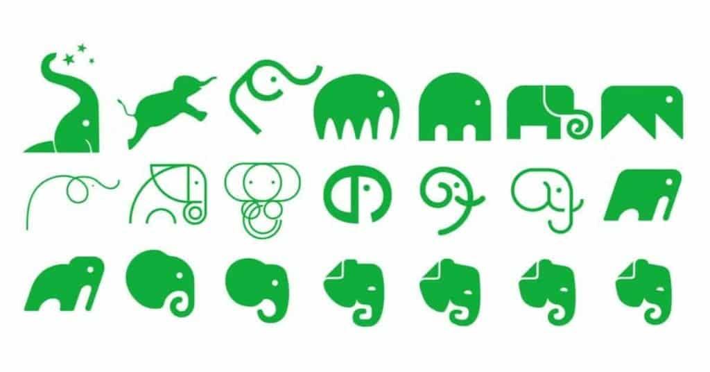Evernote - Prove elefante