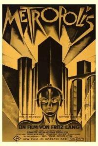 Locandine film Metropolis - Claudio Troisi Graphic Designer
