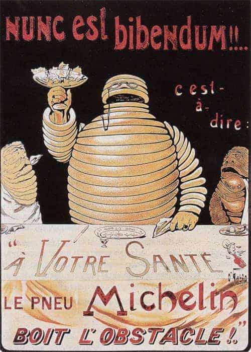 Poster Michelin 1898